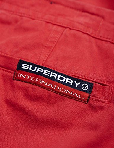 Superdry Herren Shorts International Rot