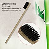 Environment-friendly Wood Toothbrush Bamboo Toothbrush Soft Bamboo Fibre Wooden Handle Low-carbon Eco-friendly