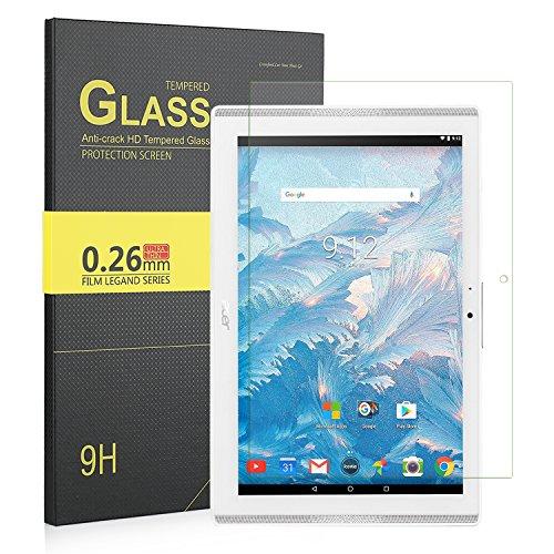 IVSO Acer Iconia One 10 B3 A40 Pellicola Protettiva Schermo Vetro Temperato per Acer Iconia One 10 Tablet