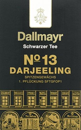 Dallmayr Schwarztee – Nr. 13 Darjeeling First Flush, 2er Pack (2 x 100 g)