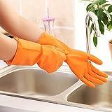 amaoma Mantén goma de látex guantes de goma Guantes Soldados plástico de la ropa de trabajo Guantes de lavado de la Casa hacer