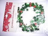 2,7 m trendy Sternen Glocken Schmuck Girlande grün DEKO Christbaumkette Schmuckkette tolle Raumdeko DEKO/verarbeiten Weihnachtsdeko 5553