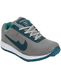 Arexon Men's Synthetic Grey Colored Sport Shoe( Men's Running Shoe, Breathable Sports Shoe, High Grip Sports Shoe... - B074Q293VN