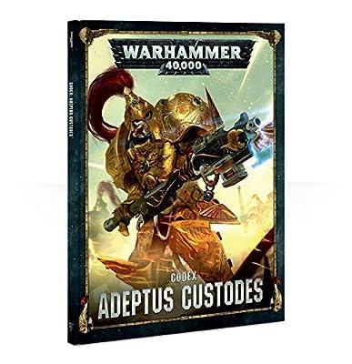 Warhammer 40k Codex: Adeptus Custodes (ENG)