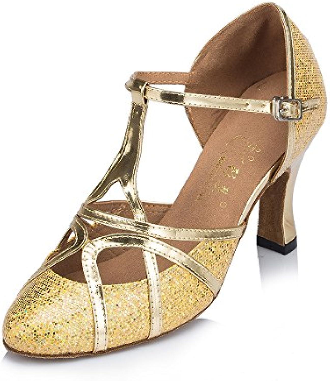 Der Innenraum Damen Tanzschuhe Latein Schokolade Schuhe