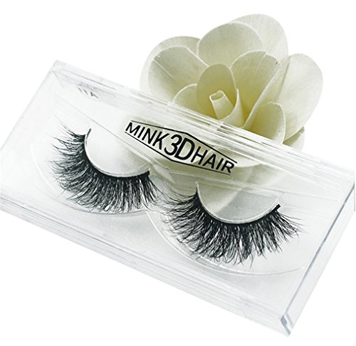 HENGSONG 3D Artificial Hair False Eyelashes Natural Thick Eye Lashes Makeup Extension (E)