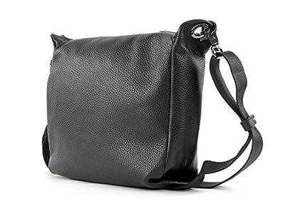 Mandarina Duck - Mellow Leather Tracolla, Shoppers y bolsos de hombro Mujer, Schwarz (Nero), 9x21x24 cm (B x H T) de Mandarina Duck