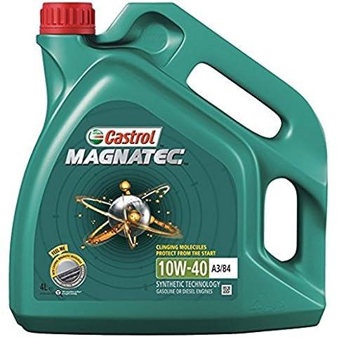Castrol MAGNATEC 10W-40–gasolina/aceite motor diesel parcialmente sintético 4L