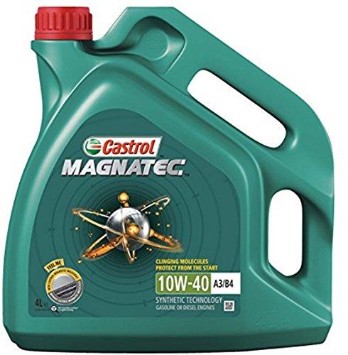Castrol Magnatec 10W-40Huile moteur–Essence/Diesel partiellement synthétique 4L pas cher