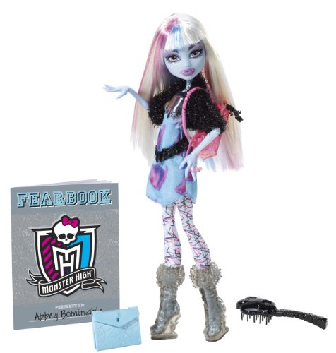 Mattel Monster High Y8498 -  Abbey Bominable, Puppe mit (High Tun Monster)