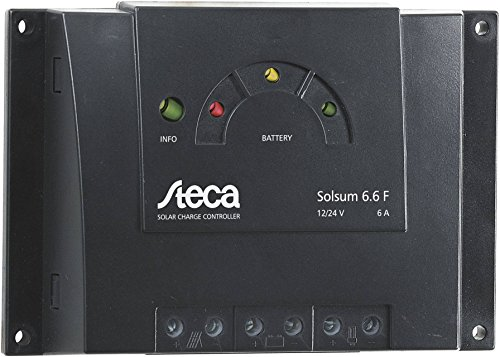 Solarladeregler Steca Solsum 6.6F - 6A Solar Laderegler