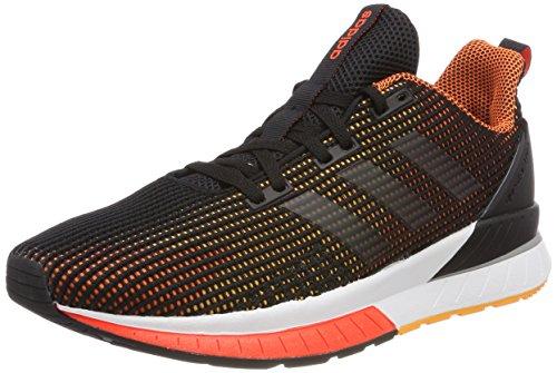 adidas Herren Questar TND Laufschuhe Schwarz (Core Black/core Black/hi-res Orange S18)
