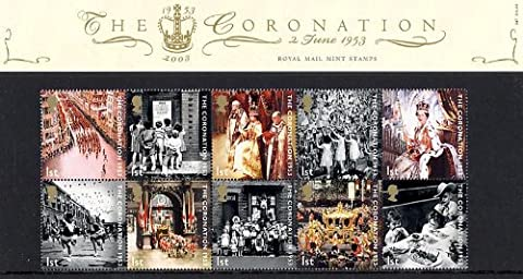 2003 The Coronation Stamps in Presentation Pack