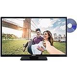 Telefunken XH32A101D 81 cm (32 Zoll) Fernseher (HD Ready, Triple Tuner, DVB-T2 HD, DVD-Player)[Energieklasse A+]