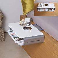 hecht international iovivo mini table de nuit suspendre longueur 40 cm - Mini Table De Chevet