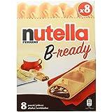 Nutella B-Ready - Mini Baguettes Rellenos con Nutella - 8 unidades