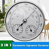Termometro, igrometro, barometro, Sorliva da appendere alla parete stazione meteo termometro barometro igrometro ambientale 130mm 970~ 1040HPA