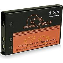 Power Batería EN-EL5 para Nikon Coolpix 3700 | 4200 | 5200 | 5900 | 6000 | 7900 | P3 | P4 | P80 | P90 | P100 | P500 | P510 | P520 | P5000 | P5100 | S10