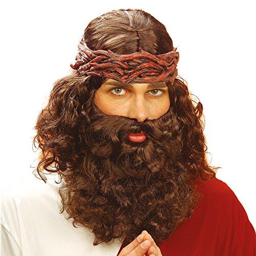 ke Prophet mit Bart, braun (Bibel-halloween-kostüme)