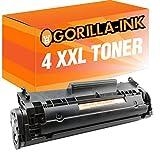 Gorilla-Ink® 4x Toner-Patrone XXL kompatibel für Canon FX-10 Faxphone L 100L 120L 140L 160L 190L 90 PC-D 440 PC-D 450