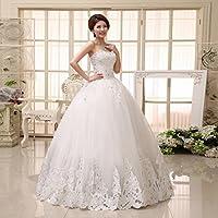XP Moderna Hermosa Novia Vestido de Novia de la Novia Elegante Princesa Qi Vestido de Novia
