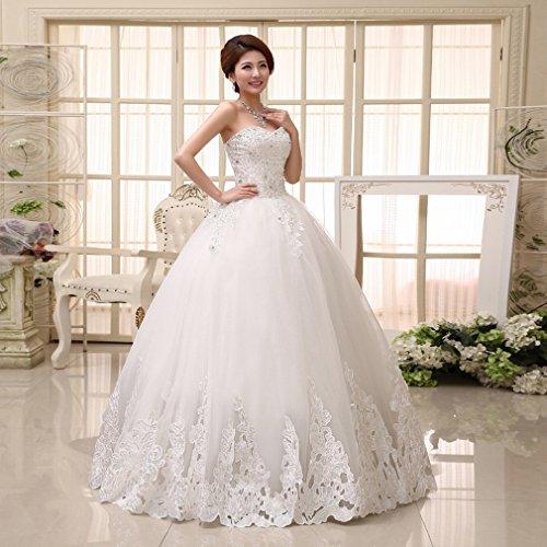 QP Kleid modernen Braut-Braut Schöne Braut Elegante Prinzessin Prinzessin Hochzeitskleid Qi, UNE, (Griechischen Bühne Kostüme)