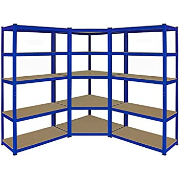 1 X Corner Garage Racking Unit 2 Single Storage Units 5 T