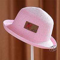 JYJSYM Sombrero para el Sol, Protector Solar, Sombrero de Verano, Playa, Deportes al Aire Libre Protector Solar Anti - UV Casco,Rosa