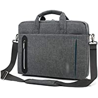 MIMIOOORE La Bolsa Impermeable Business Notebook Bolsa de Tela de Nylon (Color : Grey, Size : 15inch)