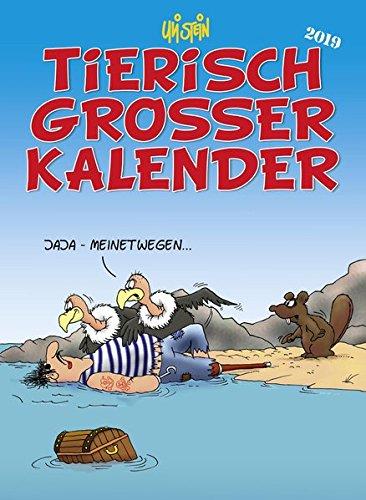 Uli Stein Tierisch großer Kalender 2019