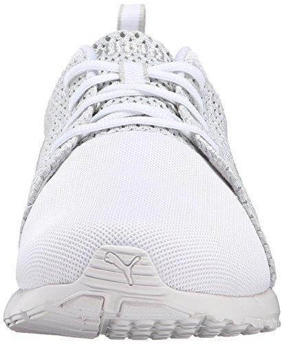 Violeta Color Gris De Blanco Punto Con Zapatilla De Cordones Deporte Puma Carson Corredor De Moda La RwFqZUU