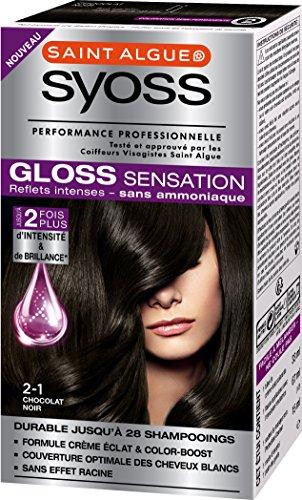 SYOSS Gloss Sensation Coloration Permanente 2.1 Chocolat Noir 67 ml