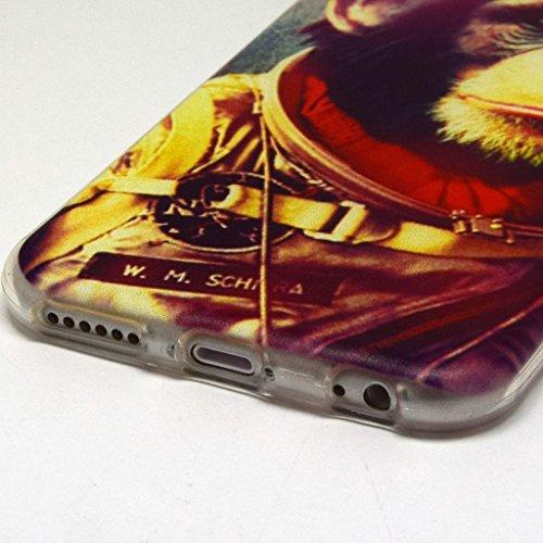 iPhone 6plus (14cm) Coque souple en TPU, yaobaistore Coque de protection en TPU Étui pour Apple iPhone 6plus (14cm) Étui souple en silicone gel