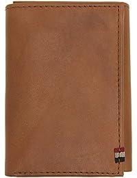 Superdry Premium Bi Fold Hombre Wallet Marrón