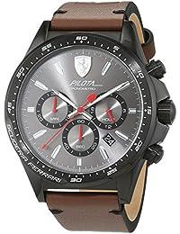 Reloj Scuderia Ferrari para Hombre 0830392, Marrón (Gris/Marrón)