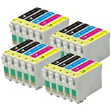 4 Compatible Sets of 4 + Extra Black XL Printer Ink Cartridges to replace T1816 + T1811 / 18XL Series (20 Inks) - Black / Cyan / Magenta / Yellow for use in Epson Expression Home XP-102, XP-202, XP-205, XP-212, XP-215, XP-225, XP-30, XP-302, XP-305, XP-312, XP-315, XP-322, XP-325, XP-402, XP-405, XP-405WH, XP-412, XP-415, XP-422, XP-425