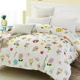 Puro algodón solo duvet cover/Alumnos del tejido de algodón de otoño/invierno/ tejido simple comodidad-H 200x230cm(79x91inch)