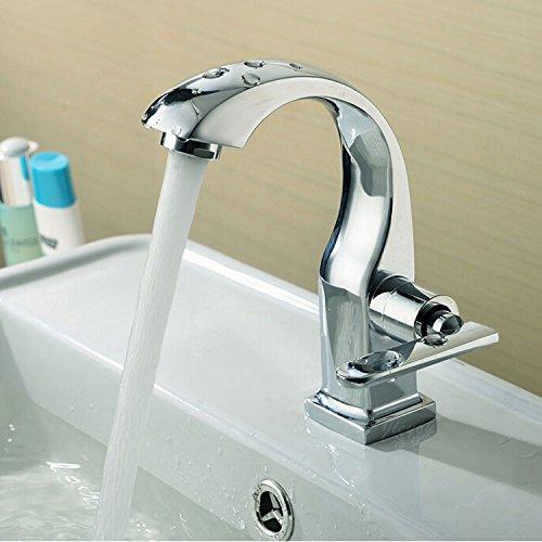 Single Kalt Tap Küche Bad Wasserhahn Becken Wasserhahn Bad Wasserhahn Waschbecken Wasserhahn Wäsche Wasserhahn (Delta-3-funktion Umsteller)