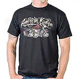 Schwingsattel American Kustom T-Shirt Peanut Tank Classic Bike Route 66 USA (2XL)