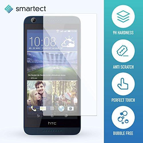 smartect HTC Desire 626g Panzerglas Folie - Displayschutz mit 9H Härte - Blasenfreie Schutzfolie - Anti Fingerprint Panzerglasfolie