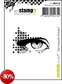 Carabelle Studio Marquille Eye of Stars Cling Timbri Mini, Gomma, Bianco/Trasparente, 5x6x1 cm