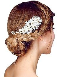 Brautschmuck haare perlen  Suchergebnis auf Amazon.de für: brautschmuck haare: Schmuck