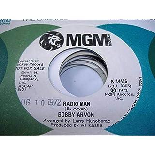 BOBBY AVRON 45 RPM Radio Man / Forgotten Child, Forgotten Man
