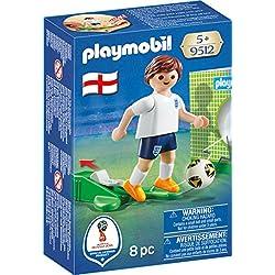 Playmobil Fútbol- Jugador Inglaterra, (9512)