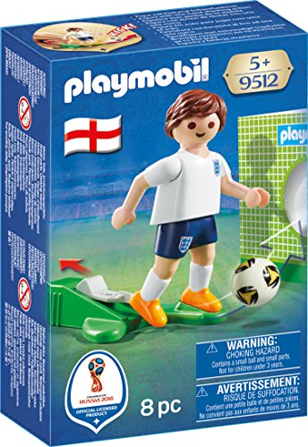 Playmobil Fútbol- Jugador Inglaterra
