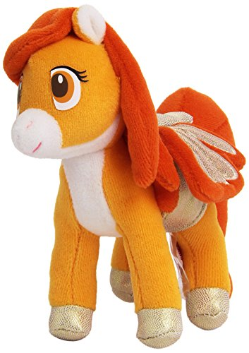 Trudi - Mini Pegaso de Peluche, Color Naranja (50176)