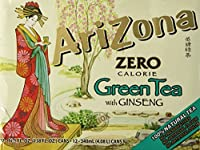Arizona Diet Green Tea, 11.5-Ounce (Pack of 12)