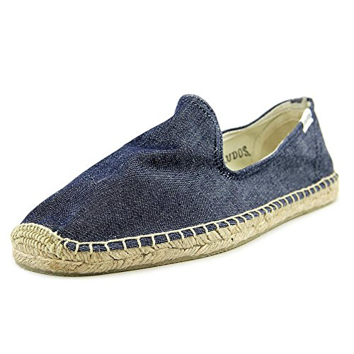 Soludos Smoking Slipper Rund Textile Espadrille Dark Blue