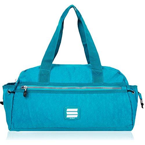 SUVELLÉ Suvelle Small Lightweight Duffle Weekend Handbag Luggage Gym Sports Travel Duffel Bag 2067