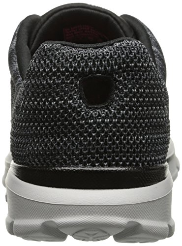 Skechers Go Walk 3contest, Sneakers basses femme Noir - Noir (Bkgy)